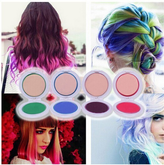 4 color options, TV hair tools hair color hair dye powder disposable ...