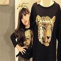 Kids Tales JYT-133 девочка детской одежды дети девушка с длинными рукавами наборы случайные дизайн футболки и брюки носит для свободного корабля