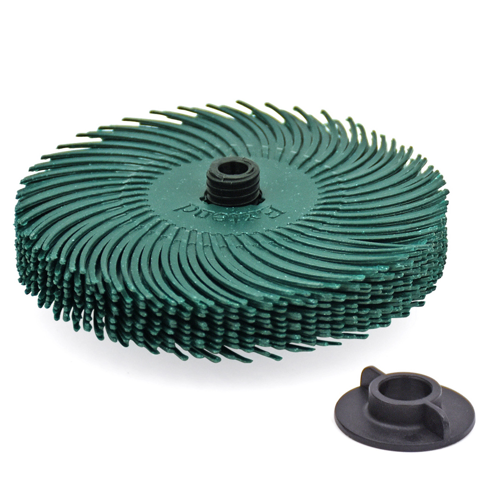 10 pz 3 m dischi radiali a setole di ruote per dischi abrasivi - Utensili abrasivi - Fotografia 3