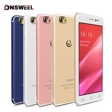 Livraison Cas + Flim Gooweel M7 3G Smartphone 5.5 pouce IPS écran MTK6580 quad core Mobile téléphone GPS 1 GB RAM 8 GB ROM WCDMA Cellulaire téléphone