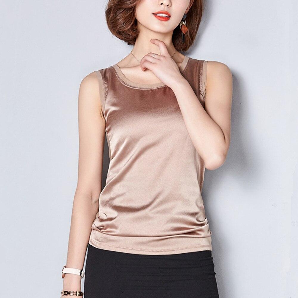 Summer Cotton font b Women b font Tank Tops Camis O neck Fitness Elegant Soft Female