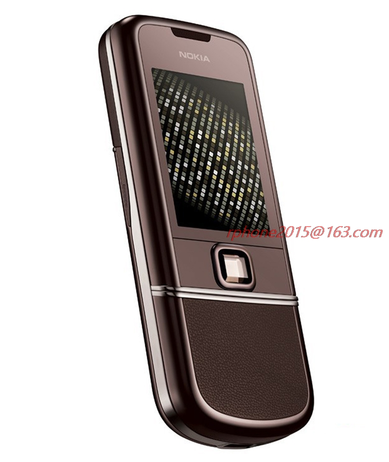 Refurbished Original NOKIA 8800 Sapphire Arte 1GB ROM 8800SA Mobile Phone GSM Unlocked Russian Keyboard