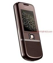 Восстановленный Оригинальный NOKIA 8800 Sapphire Arte 1 Гб ROM 8800SA мобильный телефон GSM разблокированная и русская клавиатура