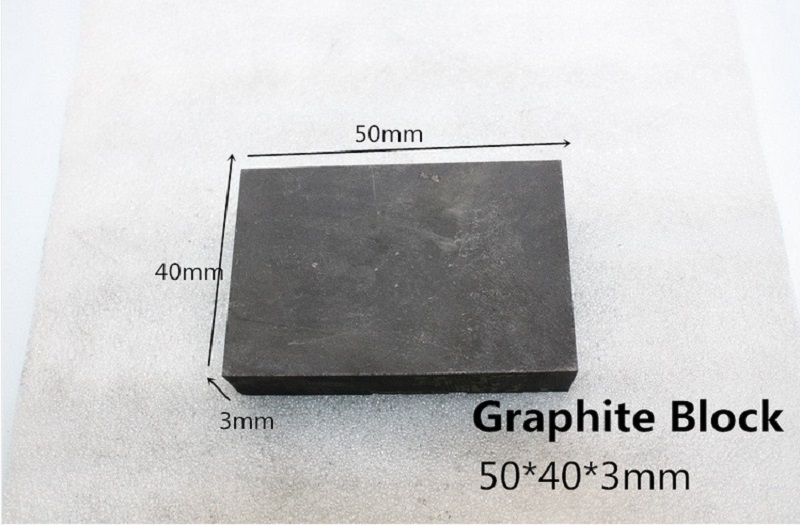 50*40*3mm graphite block carbon plate 5pcs for graphite casting mold Lowest Price 99.99% Pure Graphite  Rectangle Plate Sheet
