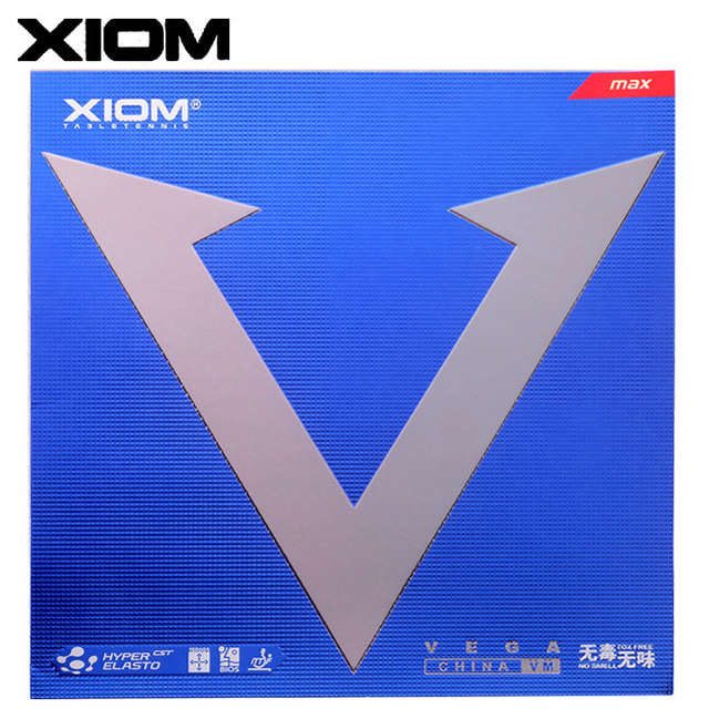 huge discount f7fe4 e809f XIOM Original VEGA chine VM boutons bleus en Tennis De Table en caoutchouc  Ping-Pong
