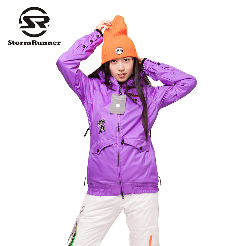 Colorful  snow ski jacket  outdoor sport Jacket  big discount snow jacket for girls ski go мазь держания ski go lf