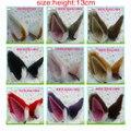 Envío gratis cosplay cat ear clip horquilla fox de la felpa del oído cos colores partido headwear headwear pin puede tamaño grande 13 cm