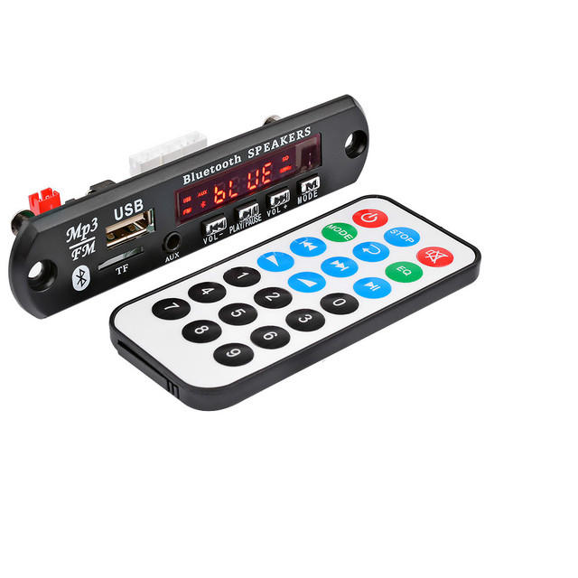 AIYIMA 15Wx2 Bluetooth Amplifier Board MP3 Decoder Board Bluetooth 5.0 Receiver WAV APE FLAC Audio Decoding USB TF FM AUX