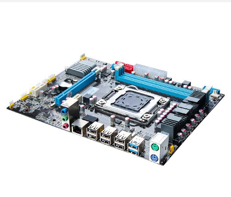 WUSON store recommend HUANAN X79 motherboard CPU memory combos CPU Intel XEON E5 2640 V2 RAM 2*8G DDR3 REG ECC computer DIY