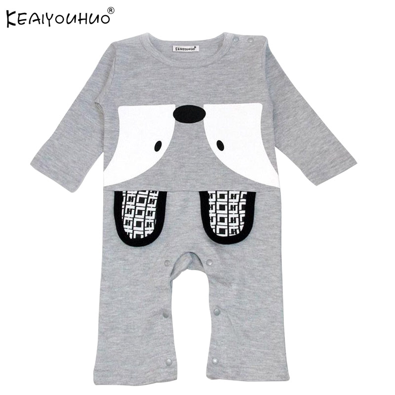 Climb Clothes 2017 Autumn Romper Infant Fox Leotard Cotton Fashion Newborn Boys Girls Clothing Long Sleeves Baby Costume Rompers