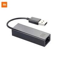 الأصلي xiaomi usb 2.0 محول إيثرنت 10 ميغابت/100 mbps ميجابايت rj45 محول شبكة lan محول للتلفزيون صندوق 3 محمول