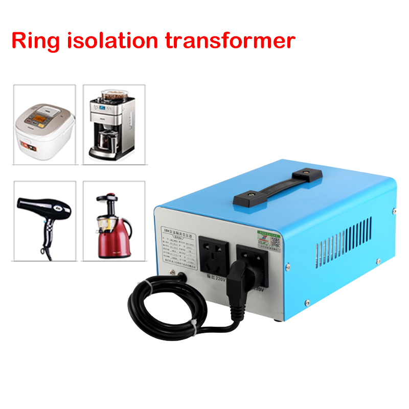 Transformateur anti-interférence de filtre d'isolement de transformateur d'isolement d'anneau de 220 V/500 W