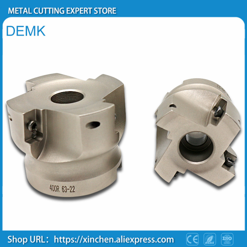BAP400R 100-32 mm Inner hole 90 degrees 6F Install APKT1604 APMT Carbide insert CNC Milling cutter knife dish Free shipping 1pc hhs cylindrical milling cutter d80 32 h100 milling tool inner hole 32mm
