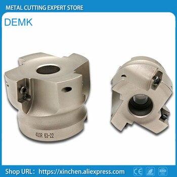 BAP400R 100-32mm agujero interior 90 grados 6F instalar APKT1604 APMT carburo inserto CNC fresadora cúter plato envío gratis