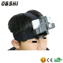 Outdoor headband mobile phone bike ride mobile phone bracket does not affect the ride bike Applicable
