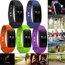 Новые сердечного ритма Мониторы шагомер калорий сна Мониторы Умные часы Бесплатная доставка H3T5
