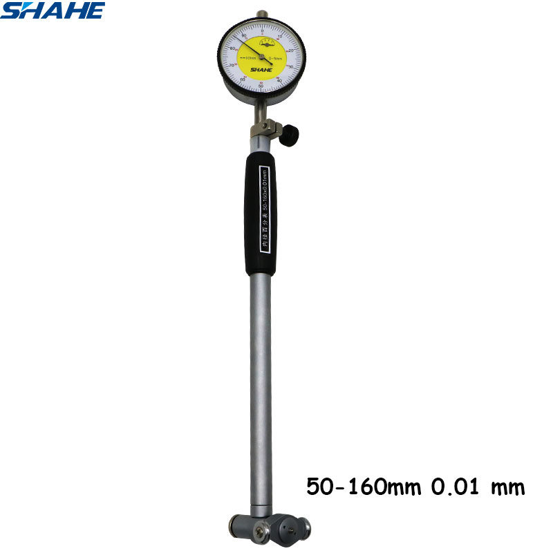 50 160 mm Dial Bore Gauge Hole Diameter Measuring gauge 0 01 mm indicator measurement instrument