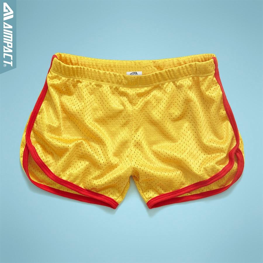 Aimpact Workout Shorts Mesh Summer Homewear Fitness Comfortable Cool Men Soft 2AMC11