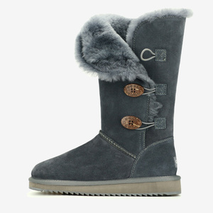 Image 5 - GOGC 2018 Women Winter Boots Snow Boots Warm Womens Winter Boots with Wool Fur Comfortable Genuine Leather Womens Shoes 9722