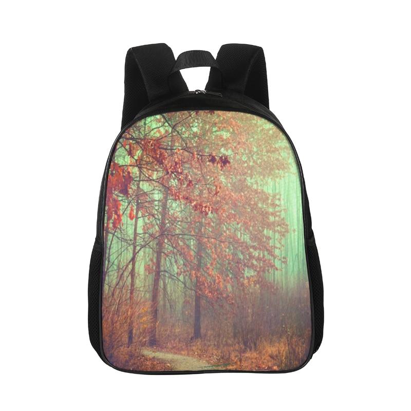 CROWDALE Travel Backpack Printing-Bag Shoulder-Bag Rucksack Female Floral Women Scenery