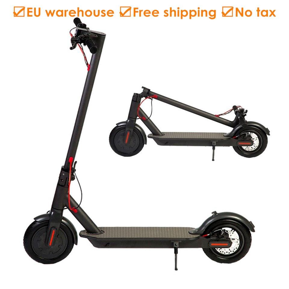 Европа склад взрослый складной электрический скутер 8,5 дюйм(ов) два колеса E скутер электрический самокат IP54 12,5 кг 25 км длительный срок служб...