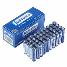 LEISE 40pcs Durable Safe Strong Reliable Stable Explosion-proof Environment Friendly No Mercury R03 Size AAA UM4 1.5V Battery