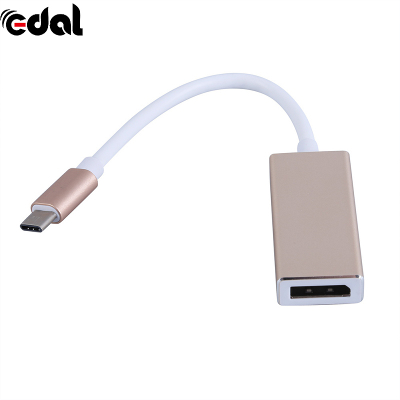 Universal USB-C to DisplayPort Adapter USB 3.1 Type C to DP Adapter converter Support 4K UHD 1080P for Macbook Pro universal usb c to displayport adapter usb 3 1 type c to dp adapter converter support 4k uhd 1080p for macbook pro