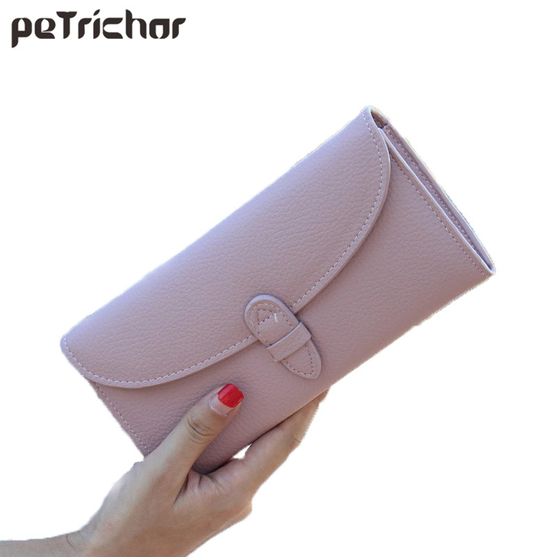 Hasp Coin Bag New 2017 Women Wallets Brand Purses Female Long Wallet Mobile Solid Fashion Large Capacity Money Bags Card Holder korean style women wallet solid color long pattern wallets hasp large capacity bag lady money purse card holders female wallet