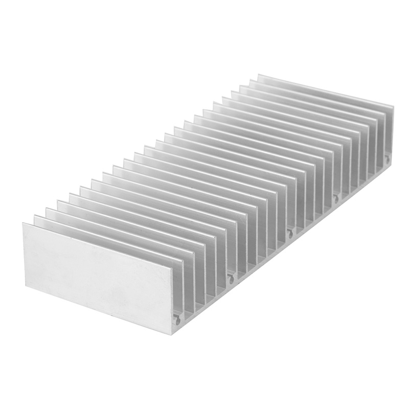 Radiator Aluminum Heatsink Extruded Profile Heat Sink for Electronic Chipset - L059 New hot 5pcs lot pure copper broken groove memory mos radiator fin raspberry pi chip notebook radiator 14 14 4 0mm copper heatsink