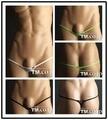 0127 TM brand name mens sexy mini thongs underwear hold gay men's underwear fashion g-strings sex exotic underwear