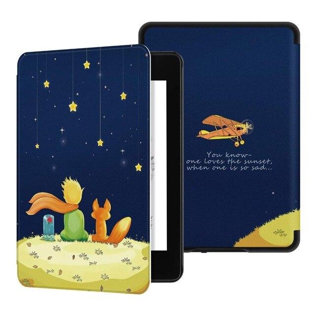 2018 Nova Case para Amazon Kindle Paperwhite 4 4 Smart Cover para Novo Kindle Paperwhite PU Caso De Couro para Tablet paperwhite 2018
