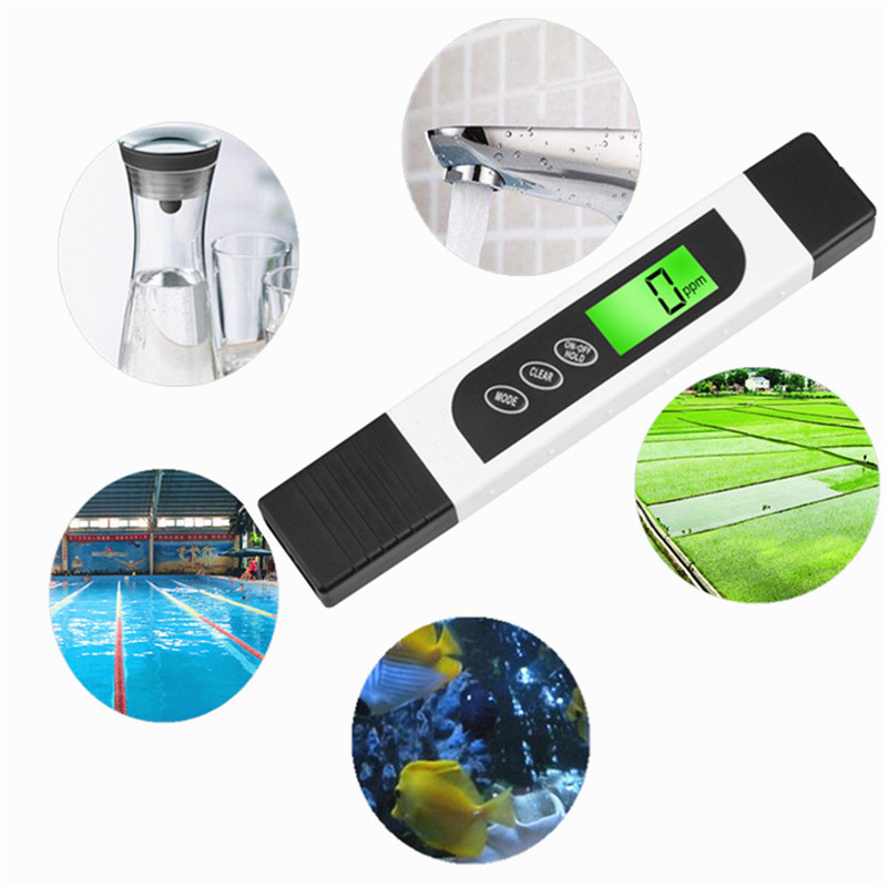Digital LCD Portable TDS Water Quality Testing Pen Meter Aquarium Pool Measuring Purity Filter High Quality Tester 0-9999 PPM (6)