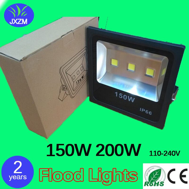 10pcs/lot 150W 200W CE RoHS Led Floodlight AC110-240V Led Industrial light led flood lights 2 years warranty free shipping