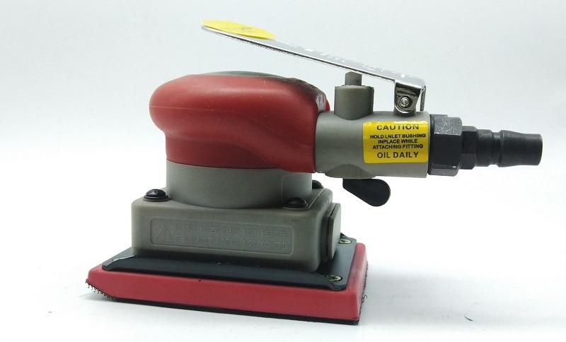 Aletler'ten Pnömatik Aletler'de Yeni 1 adet 70*100mm Titreşim tipi Pnömatik zımpara makinesi Dikdörtgen taşlama makinesi kum titreşim makinesi parlatma makinesi