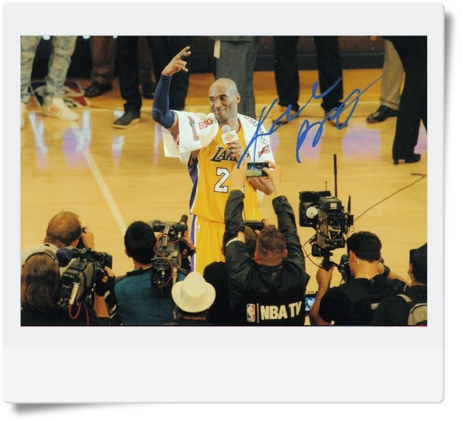signed Kobe Bryant autographed  original photo 7  inches free shipping 08201704 signed kobe bryant autographed original photo 7 inches free shipping 08201709