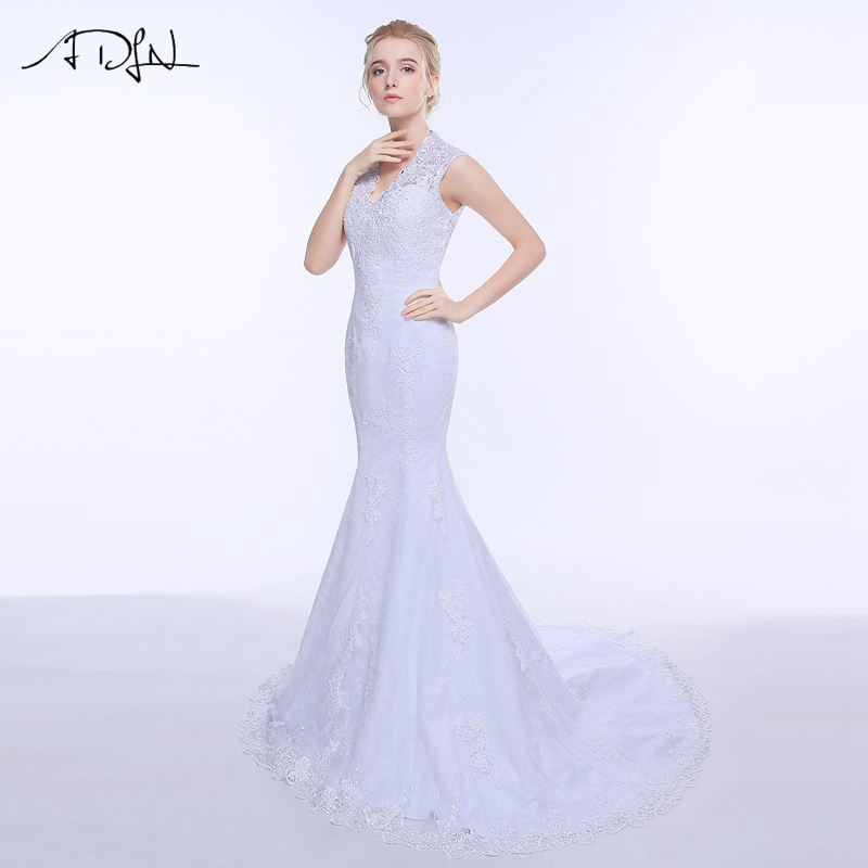 Adln in stock lace lace wedding dress mermaid 2017 for In stock wedding dresses