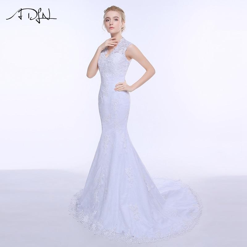 Adln in stock lace lace wedding dress mermaid 2017 for True mermaid wedding dresses