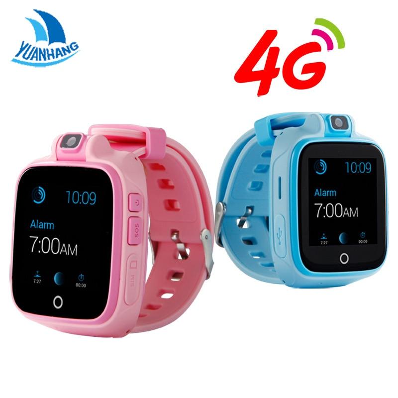 YH À Distance Caméra GPS WIFI Emplacement 1.54 Écran Tactile Enfant enfant Étudiant 4G Intelligent Montre-Bracelet SOS Appel Moniteur Tracker Alarme montre