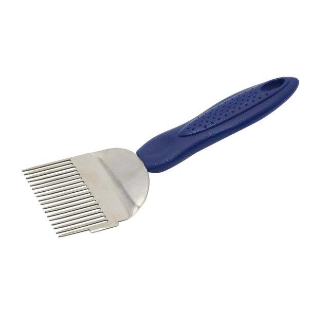 1 pz Beekee Spille g 18-Spille Aghi Diritti Stappare Spille g Forchette Blu mani