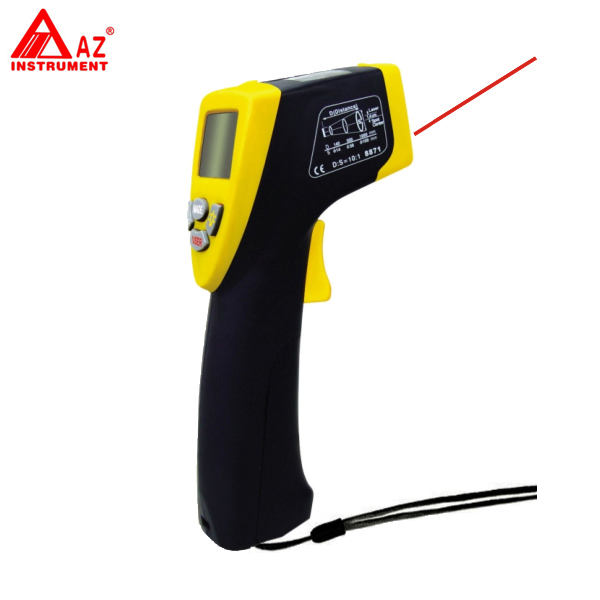 Infrared IR Thermometer Measuring range -40C ~ +500C AZ8871  цены