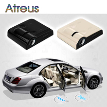 Atreus 2X Car LED courtesy lamp Projector Door Welcome Light For BMW E46 E39 E60 Mini Cooper Mercedes Toyota Corolla Peugeot 307