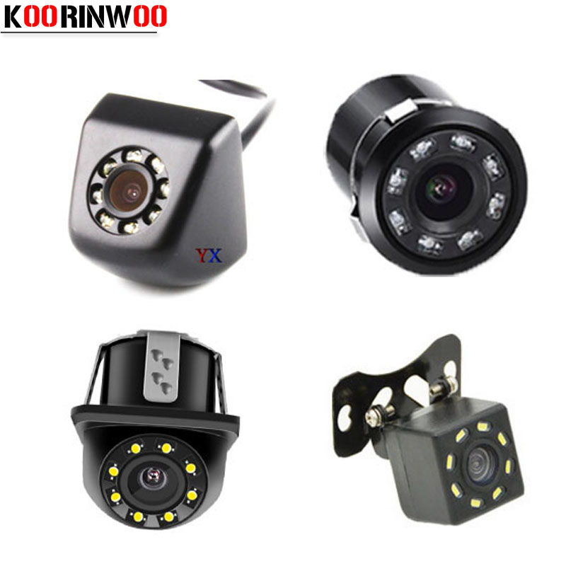 Koorinwoo Universal HD CCD Car Rear View Camera / Front Camera Form Night Vision 8 LED Lights Backup Parking Assistance for car худи print bar sweet snow