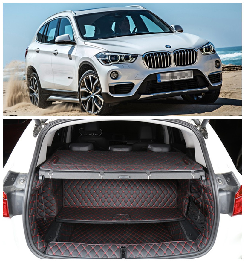 Full Rear Trunk Tray Liner Cargo Mat For BMW X1 F48 2016