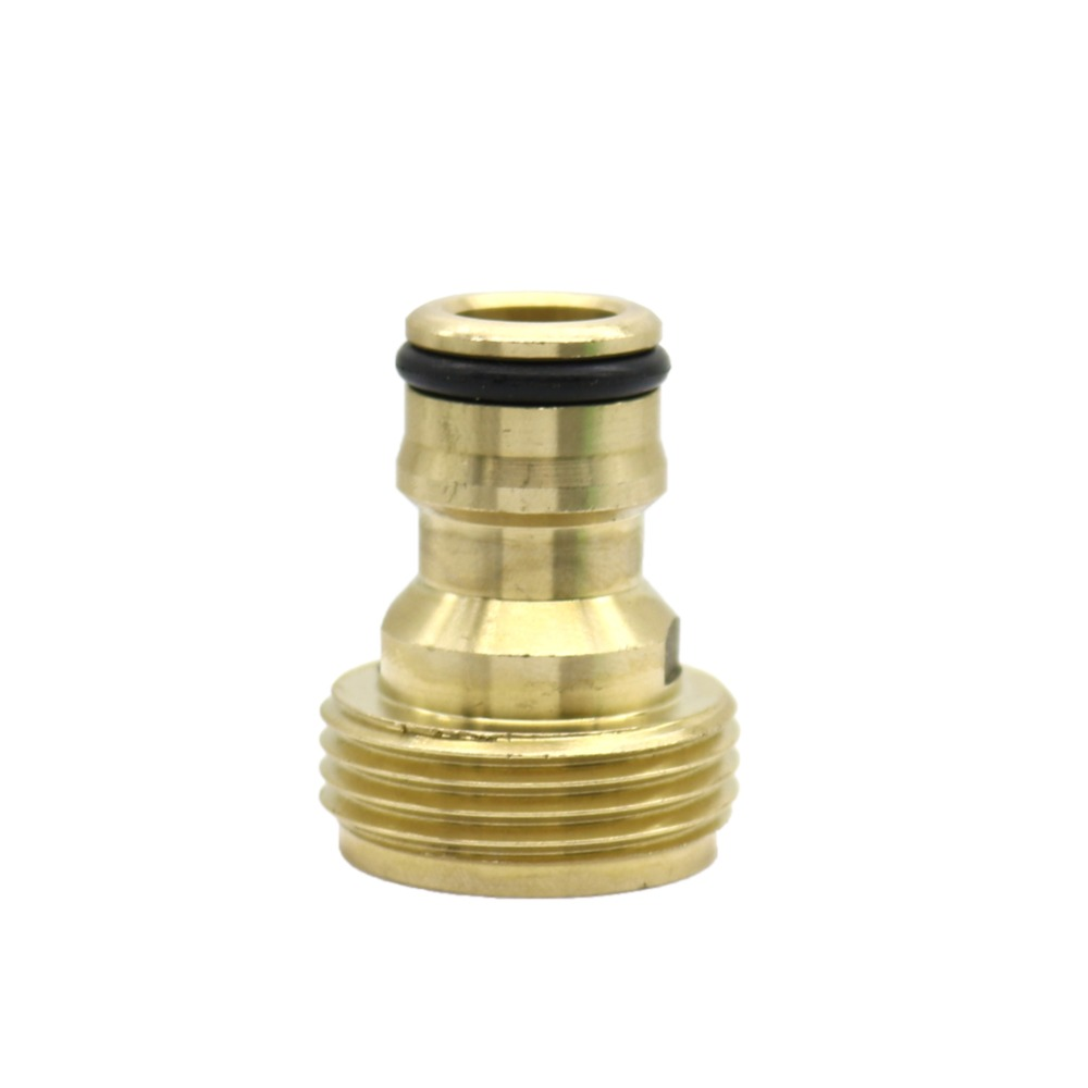 """1 2 3 4 1 Thread Brass Quick connector Agriculture tools Garden Watering Adapter Durable Joint 1/2"""",3/4"""",1"""" Thread Brass Quick connector Agriculture tools Garden Watering Adapter Durable Joint Drip Irrigation Fittings 1 Pcs"""