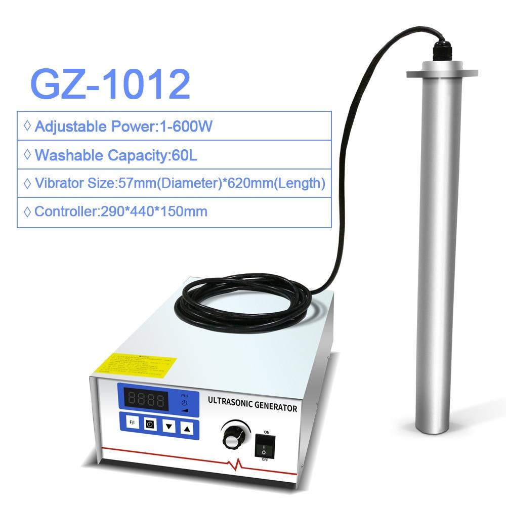 GENENG GZ-1012 Portable Industrial Ultrasonic Cleaner Vibrating Rod Input Ultrasound washing machine 4 in 1 washing machine balance rod xc7588vbps xb7088vbps d6576cbp d7576cbp