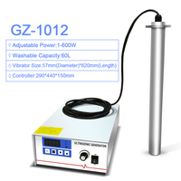 Geneng GZ 1012 Портативный промышленной ультразвуковой очистки вибрирующий стержень Вход ультразвуковая стиральная машина