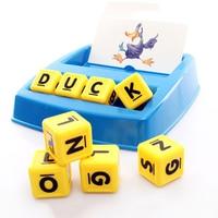 Bijpassende Brief Enlighten Speelgoed voor Kinderen Desktop Game Engels Woorden Match Spel Vroege Onderwijsleerproces Geschenken K0302