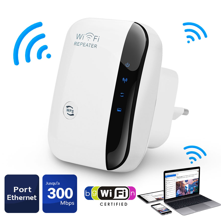 Wifi Repeater 300Mbps 802.11n/b/g Network Wifi Extender Signal Amplifier Internet Antenna Signal Booster Repetidor Wifi
