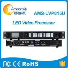 एएमएस-एलवीपी 815 यू एलईडी स्क्रीन वीडियो प्रोसेसर यूएसबी एचडीएमआई डीवीआई वीजीए सीवीबीएस 3840 * 640 समर्थन पीआईपी पीओपी नोवास्टर वीएक्स 4 एस एमसीटीआरएल 300 एलईडी वीडियो प्रोसेसर