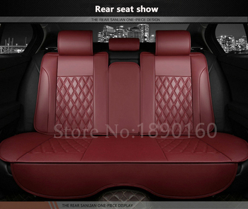 only car rear seat covers For Buick Ford Benz Peugeot LIfan Citroen Mitsubishi Renault BYD etc. all car model accessorie Leather